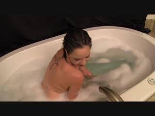 Cadey Mercury - Rub A Dub Dub, Slutty Sister In The Tub - [Incest, Roleplay, Handjob, Blowjob, Buttjob, POV]