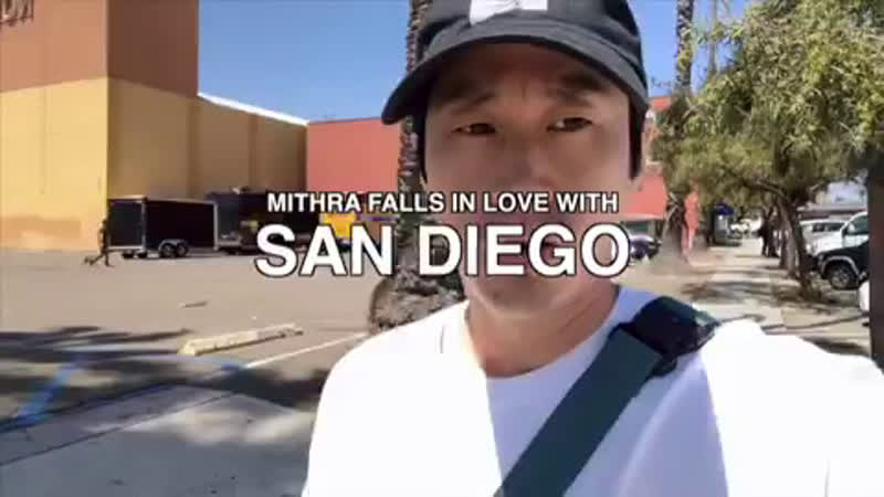 Mithra falls in love with San Diego