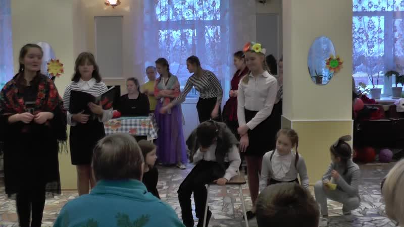 Гайвинский Дом Инвалидов Встреча поколений концерт 7 ноября