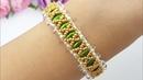 BRACELET/Beaded bracelet/Diy bracelet/БРАСЛЕТ из бусин и бисера/Как сделать браслет/Браслет