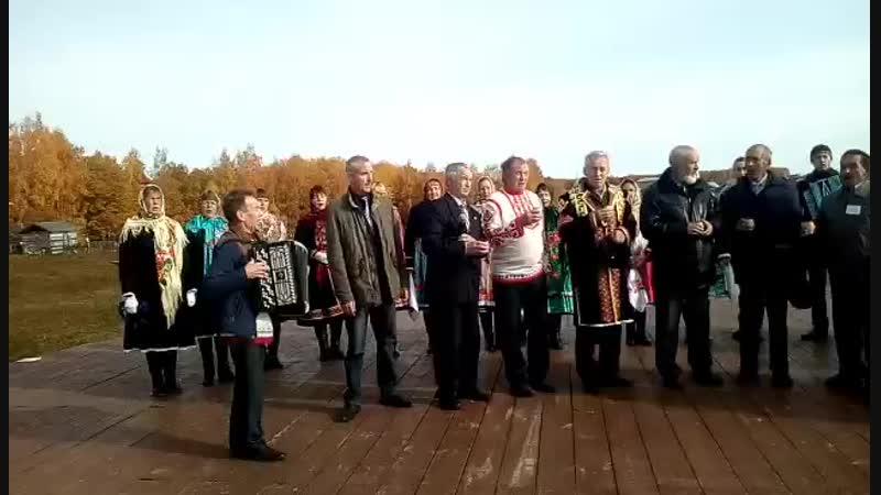 Праздник Кер сари в д Малый Сундырь 14 10 2018 таванен