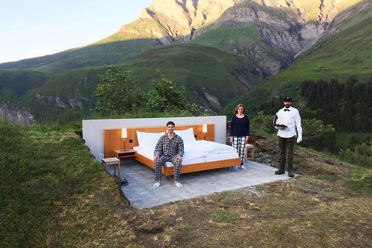 Null Stern Hotel, Зевелен, Швейцария