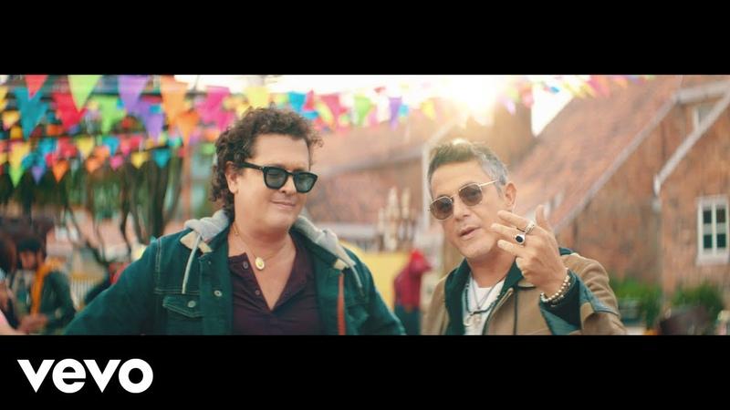 Carlos Vives Alejandro Sanz For Sale Official Video
