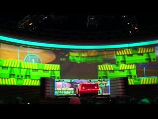 Тачки | Cars Lightning McQueens Racing Academy, Disney Hollywood Studios, Disney World