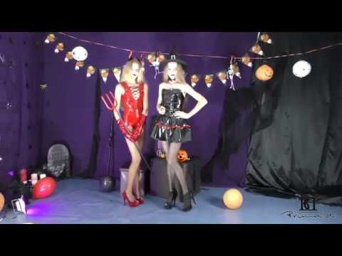 Jessy and Agness Halloween promo agency Brima d