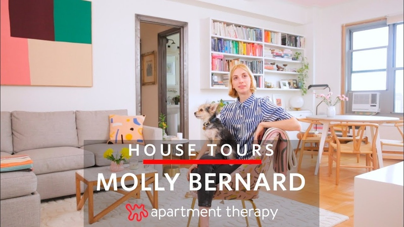 Younger Star Molly Bernard's Brooklyn Home   House Tours   Apartment Therapy