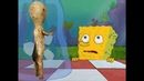 Spongebob mustn't blink! - SCP meme