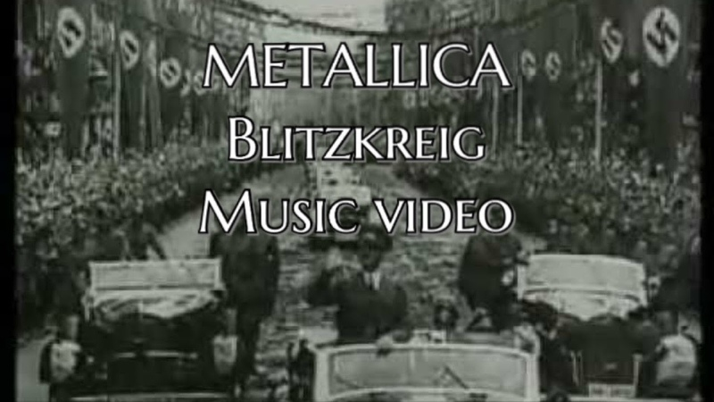 Metallica- blitzkreig WW2/music video (fan made tribute)