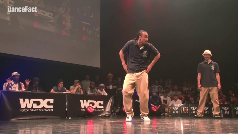 Greenteck & NELSON from CAN/FRA vsフォーマーアクション(KITE, MADOKA)from JPN WDC 2018 POPPIN' FINAL