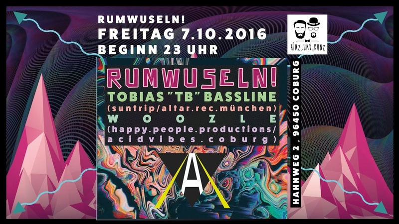 At Rumwuseln Coburg [Progressive Psytrance Mix 07.10.2016]