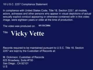 Vicky Vette -  - Diary Of A MILF