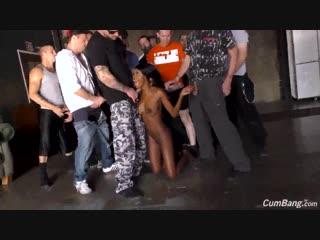 Kandie Monaee – CumBang [DogFart, Facial, Swallow, No Tattoos, Shaved, Ebony, BlowBang