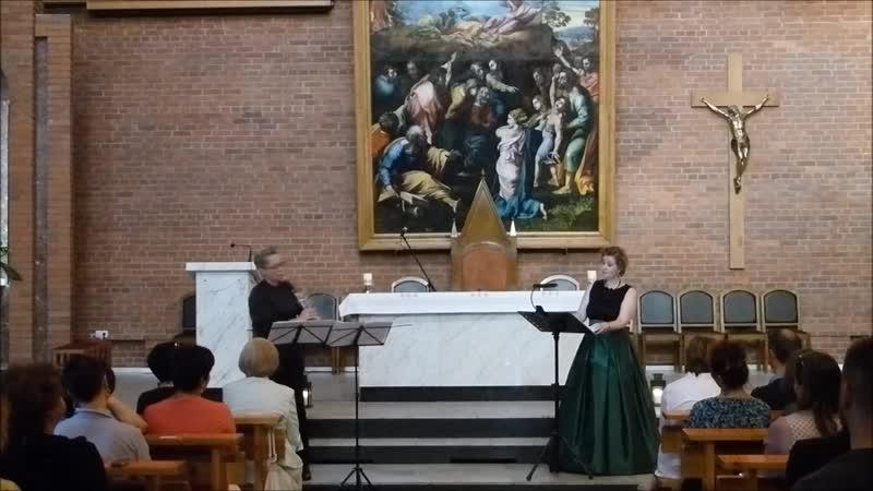 Глеб Никулин Песни СуламифьВокальный цикл для сопрано и кларнета Яна Мамонова сопраноМаргарита Аунс кларнет