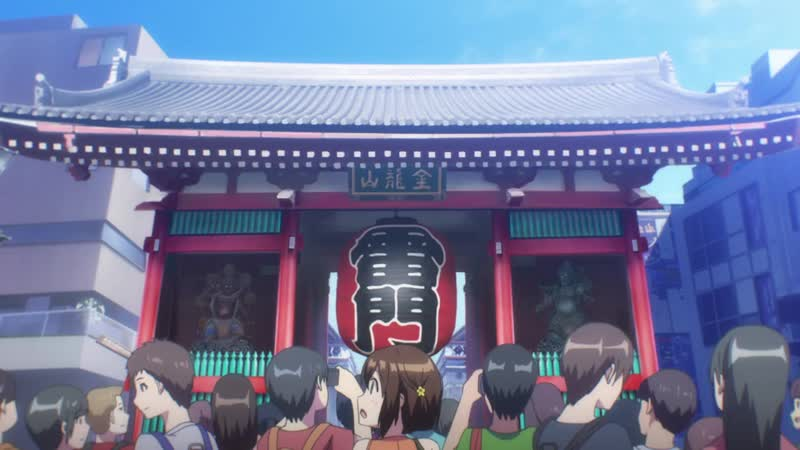 The Kandagawa Jet Girls TV anime PV