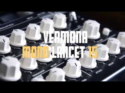 Vermona Mono Lancet 15 10 min demo sound no talking