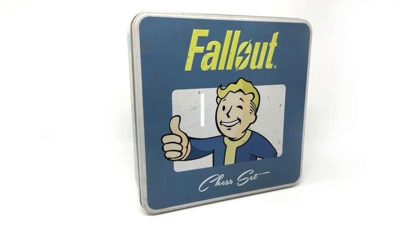 Merchandise - Fallout Chess Set