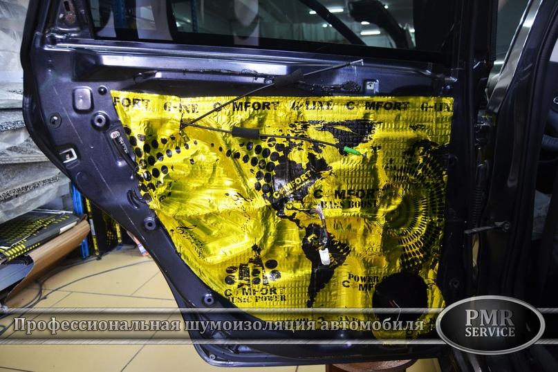 Комплексная шумоизоляция Subaru Impreza, изображение №14