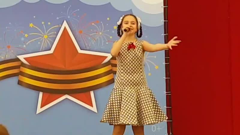 Выступление Алины Шемонаевой с песней Кадриль моя 11 мая 2019 года