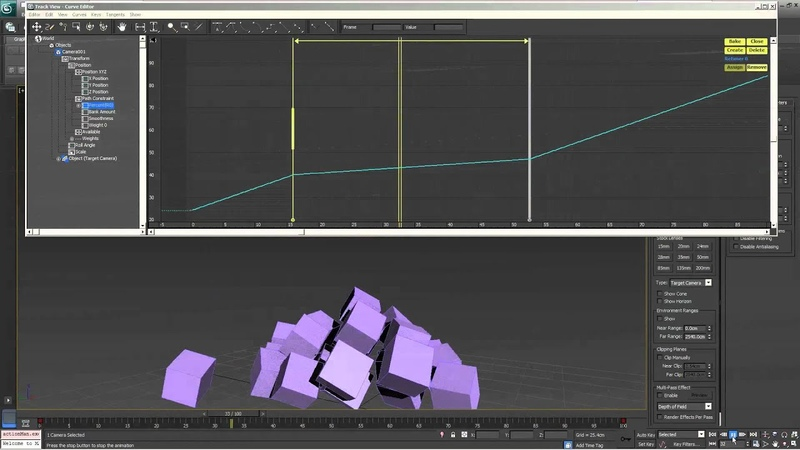 ReTime Tool 3DS Max Slow Motion Tutorial New to Max2013 Level Intermediate