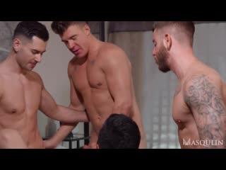 Masqulin - Motel Slutsville Part 3 - JJ Knight, Ken Summers, Lukas Daken & Rico Vega (720p)