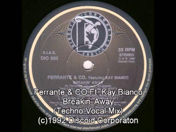 Видео Ferrante CO - Breakin' Away (Techno Vocal Mix) смотреть онлайн