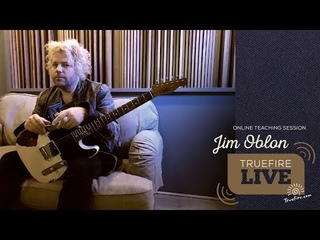 TrueFire Live: Jim Oblon - RetroACTIVE Electric Blues