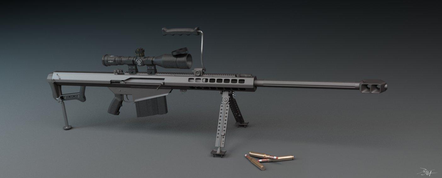 Крупнокалиберная снайперская винтовка М-107