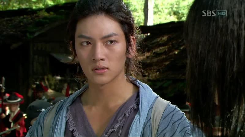 Воин Пэк Тон Су Дорама Эпизод из 17 серии Мечом управляет сердце