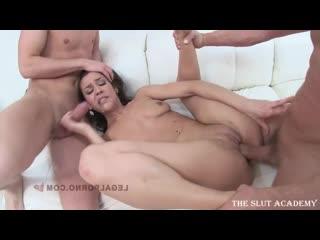 Samia Duarte - 3 on 1 scene 2114 [2014, Gonzo, Gangbang, Anal, DP, 720p]