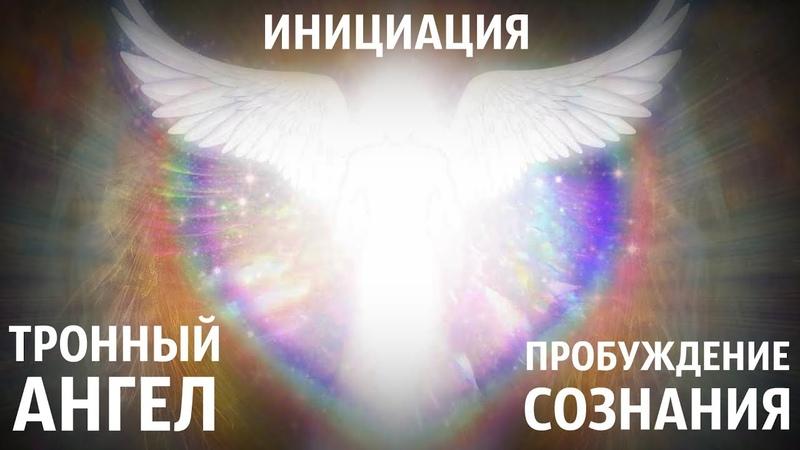 Инициация от Тронного Ангела Пробуждение сознания Звуки Живой Любви из подлинных миров