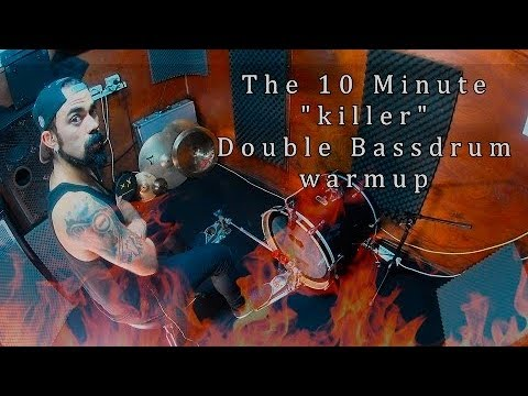 The 10 Minute balance killer Double Bassdrum Warmup