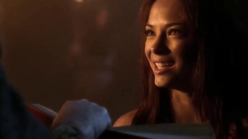 Smallville 4x08 Isobel Thoreaux possesses Lana's body
