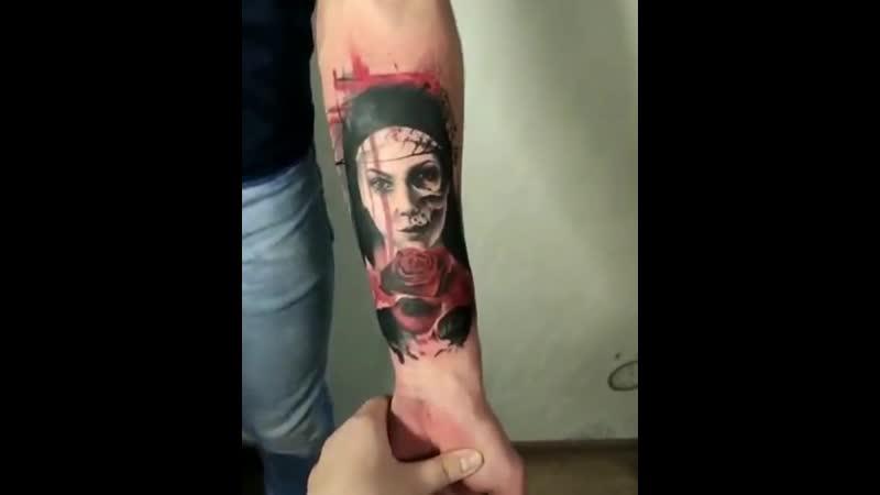 Вах, какая татуировочка