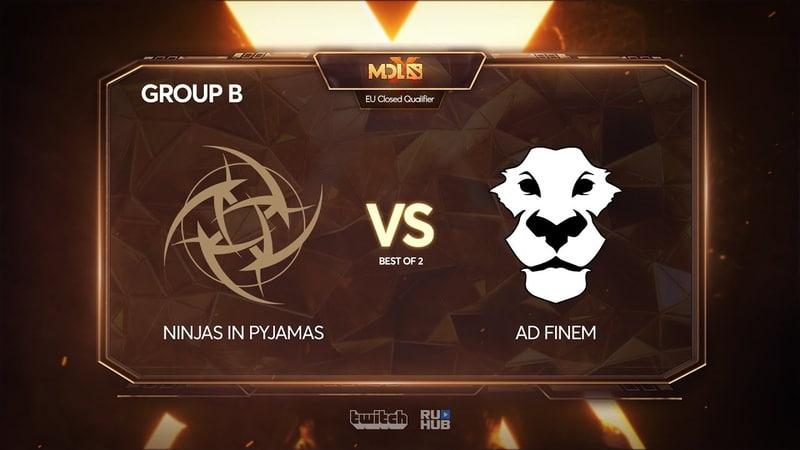 Ninjas in Pyjamas vs Ad Finem, MDL Chengdu Major Qualifier, bo2, game 2 [4ce]