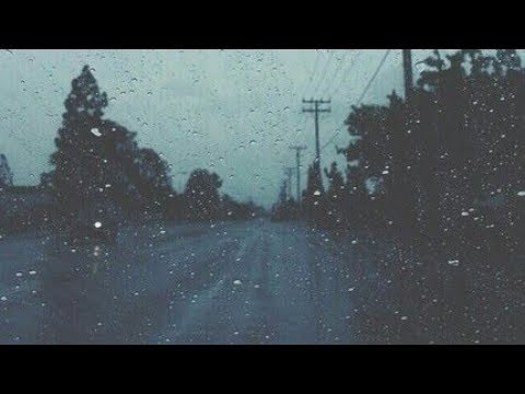 Lovely Billie Eilish Khalid while driving in the rain