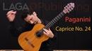 Caprice No 24 by N Paganini arr by Emre Sabuncuoglu