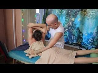 Sports wellness body massage