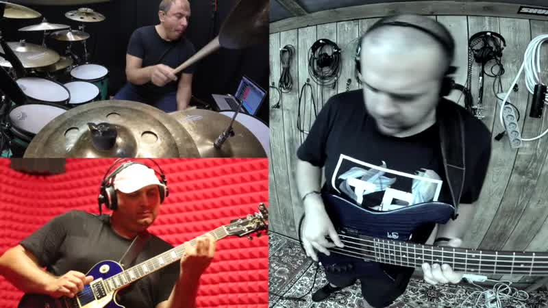 Eduard Dombrovskiy - Guitar , Anton Davidyants - Bass , Alexander Murenko - Drums, ( Yang - Frank Gambale )