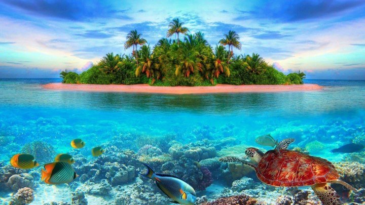 Райские острова Тихого океана