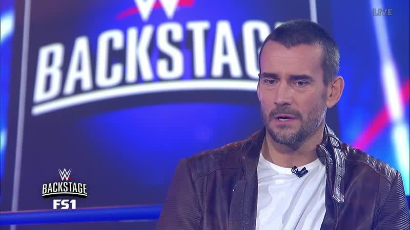 СМ Панк на шоу WWE Backstage часть 1