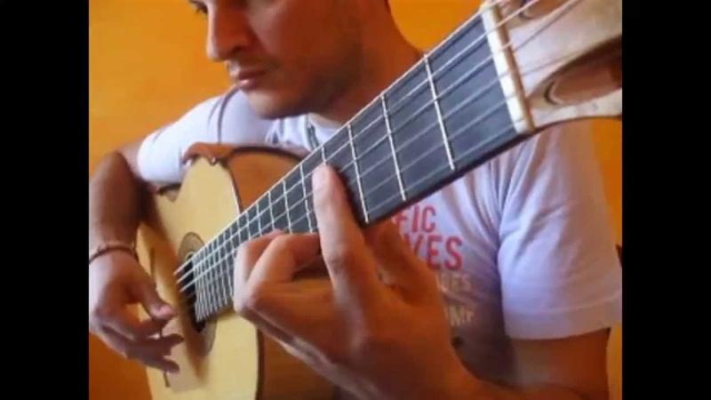 SAGRERAS III STUDIO NR 4 Flavio Sala Guitar Teaching Series