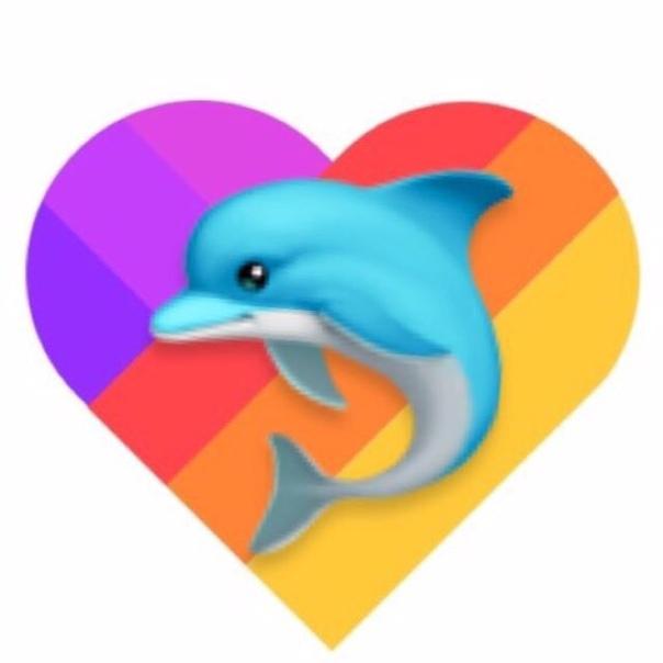 Фото смайла дельфина ведь них
