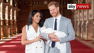 Harry and Meghan face backlash over private christening