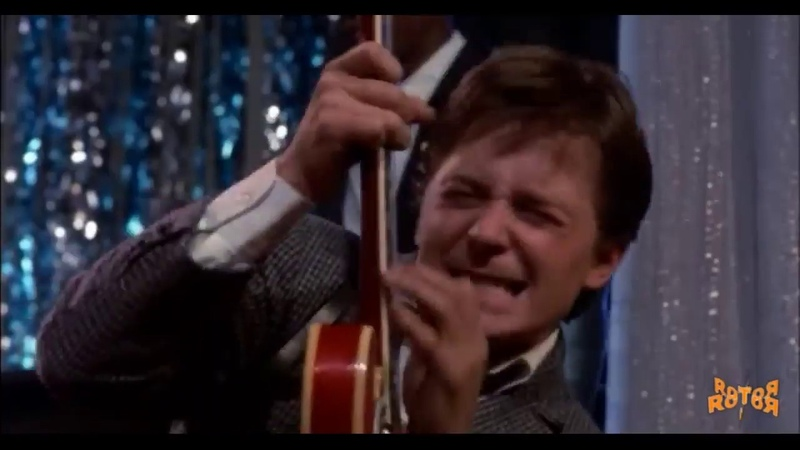 ROTOЯ Marty Mcfly Johnny B Goode
