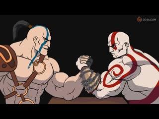 Kratos workout motivation (god of war)