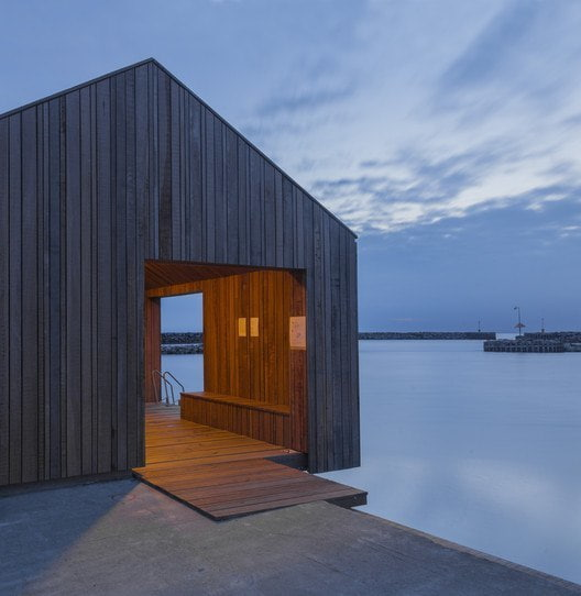 Hasle Harbour Bath / White