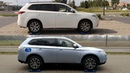 Mitsubishi Outlander PHEV S-AWC - 2014 vs 2015 - 4x4 test on rollers