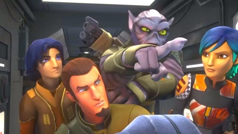 Звёздные войны: Повстанцы Потерянные командиры Star Wars Сезон 2 Серия 3