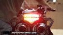 2003-2009 Yamaha FZ6 Sequential LED Tail Lights Clear Lens