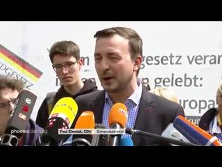 Paul Ziemiak zur Antwort der CDU auf das Video des Youtubers Rezo am 23.05.19(1)